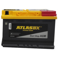 Аккумулятор AtlasBX AGM 70Ah 760A R+