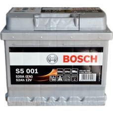 Аккумулятор BOSCH S5 52Ah 520A R+ (C6)