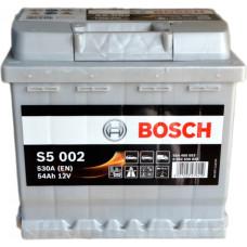 Аккумулятор BOSCH S5 54Ah 530A R+ (C30)