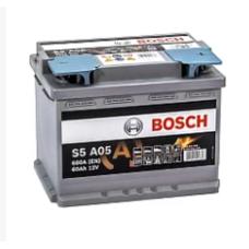 Аккумулятор BOSCH S5 AGM 60Ah 680A R+ (D52)