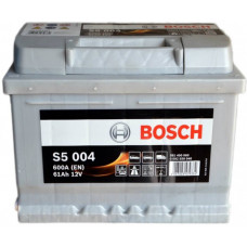 Аккумулятор BOSCH S5 61Ah 600A R+ (D21)