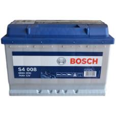 Аккумулятор BOSCH S4 74Ah 680A R+ (E11)