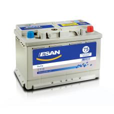 Аккумулятор ESAN Ultra 75Ah 720A R+