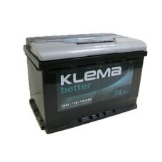 Аккумулятор Klema Better 74Ah 720A R+