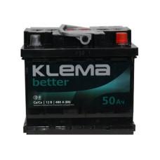 Аккумулятор Klema Better 50Ah 480A R+