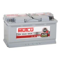 Аккумулятор Mutlu AGM 95Ah R+ 900A