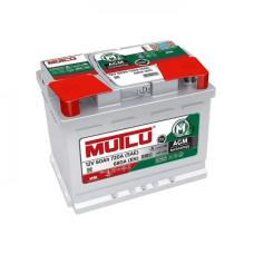 Аккумулятор Mutlu AGM 60Ah 720A R+