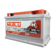 Аккумулятор Mutlu SFB 75Ah 750A R+