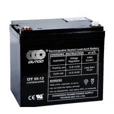 Аккумулятор Outdo OT 12-55 (12V 55A)