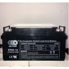 Аккумулятор Outdo OT 12-65 (12V 65A)