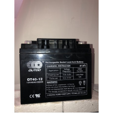 Аккумулятор Outdo OT 12-40 (12V 40A)