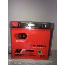 Аккумулятор Outdo UTX14-BS GEL (12V 12A)