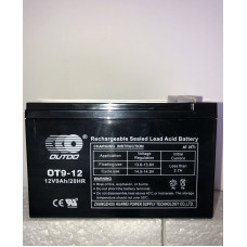Аккумулятор Outdo OT 12-9 (12V 9A)