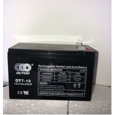 Аккумулятор Outdo OT 12-7 (12V 7A)