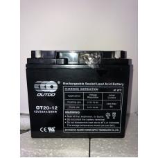 Аккумулятор Outdo OT 12-20 (12V 20A)