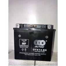 Аккумулятор Outdo UTX14-BS (12V 12A) AGM
