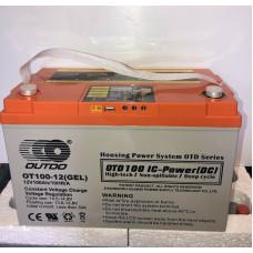 Аккумулятор Outdo OTD 12-100 (12V 100A) (электропанель)