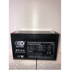 Аккумулятор Outdo OT 6-12 (6V 12A)