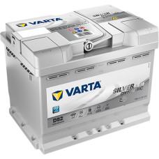 Аккумулятор VARTA Silver Dynamic AGM 60Ah 680A R+ (D52)