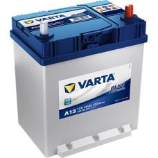 Аккумулятор VARTA Blue Dynamic ASIA 40Ah 330A R+ (A13)