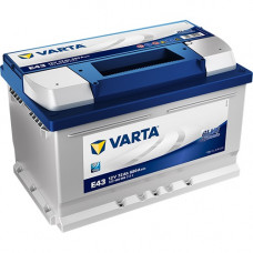Аккумулятор VARTA Blue Dynamic 72Ah 680A R+ (E43)