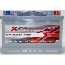 Аккумулятор X-Forse 78Ah 780A R+