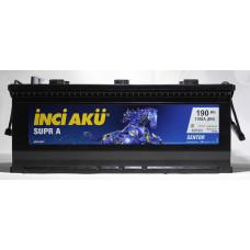 Аккумулятор INCI Aku SUPRA HD 190Ah 1100A (A3)