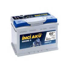 Аккумулятор INCI Aku MAXIMA 60Ah 600A R+