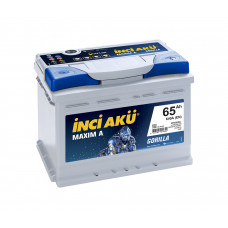 Аккумулятор INCI Aku MAXIMA 65Ah 640A R+