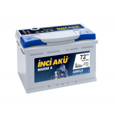 Аккумулятор INCI Aku MAXIMA 72Ah 700A R+ (низкобазовый)