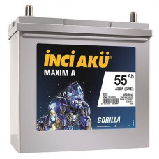 Аккумулятор INCI Aku MAXIMA Asia 55 430 R+ (Honda)