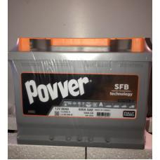 Аккумулятор POWER SFB 60Ah 600A R+