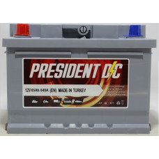 Аккумулятор President DC 65Ah 640A L+