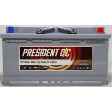 Аккумулятор President DC 100Ah 850A R+