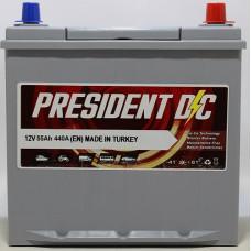 Аккумулятор President DC ASIA 55Ah 440A R+ (Honda)