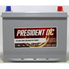 Аккумулятор President DC ASIA 65Ah 560A R+